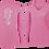 Thumbnail: Ladies Metallic Hibiscus Seahorse Performance LS