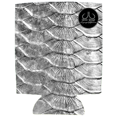 BW Tarpon Scales 12 oz. Can Coolie