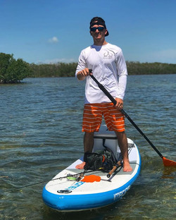 Anyone else go SUP fishing_ -_-_-_-_#tun