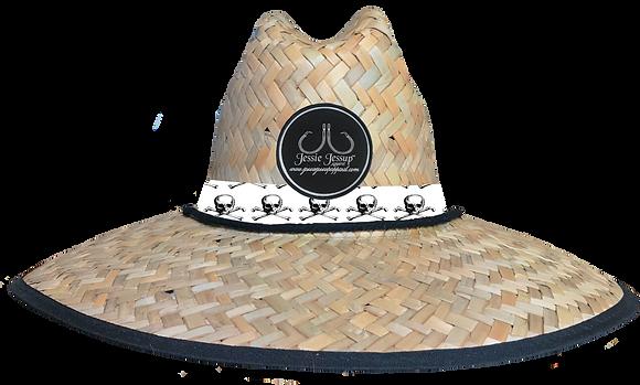 Skull & Bones Straw Hat