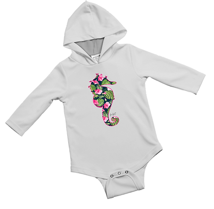 Sea Lilly Baby Onesie item #0742