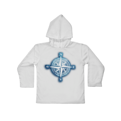 Oceans Compass Hooded Toddler LS