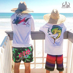 Representing our solar protected  long sleeves on the florida beaches