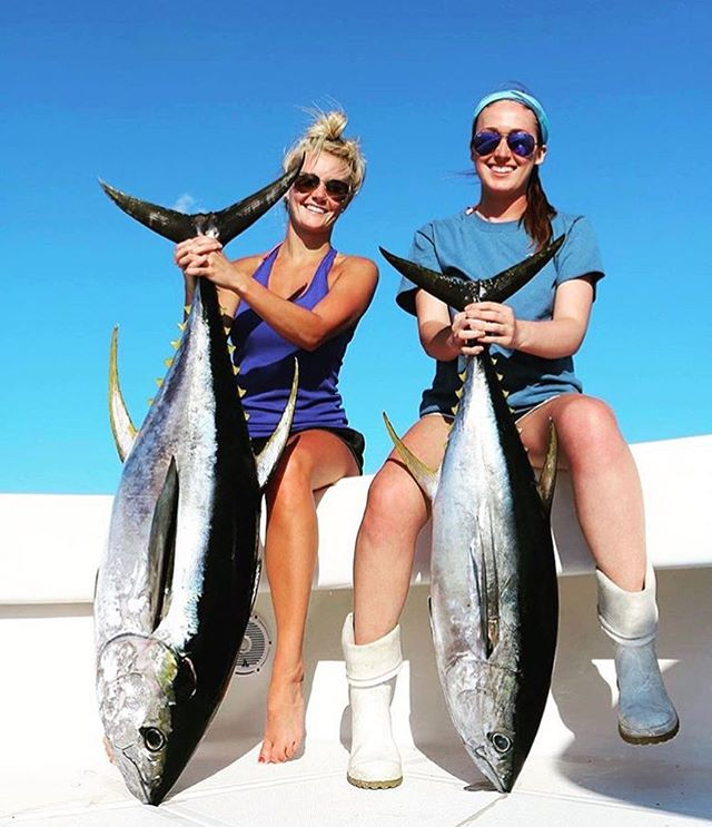 _alaynie_bell representing our buffs all while catching these big beasts! Give her a follow and chec