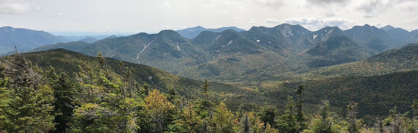 Adirondack Mountains Big Slide Summit Three Brothers