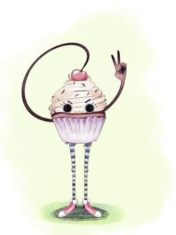 Cheecky cupcake