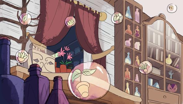 Inside of Potion Shop
