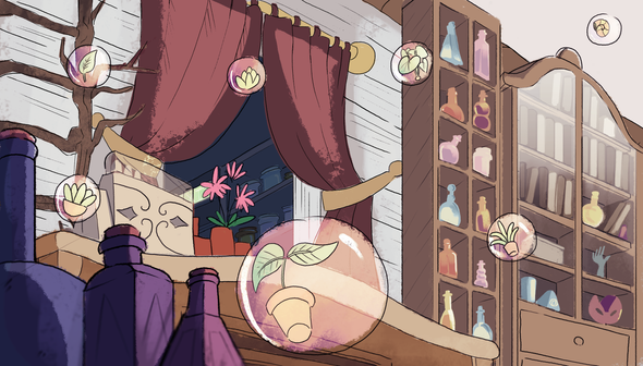 Inside of Potion Shop