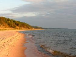 Lake Michigan Sunset Walk