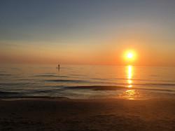 A Hot Summer Sunset