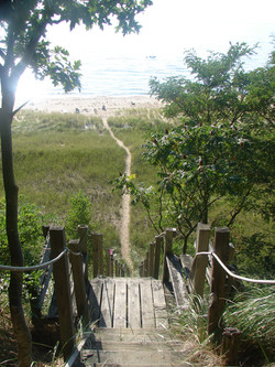 The Steps to the Beach