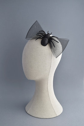 Spider Statement Hair Bow