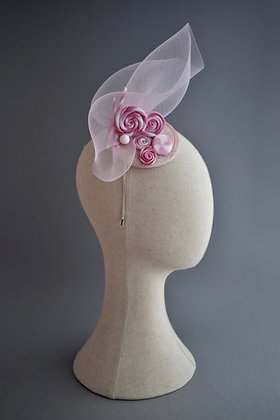 Sugar & Spice Pink Statement Headwear with Sweets