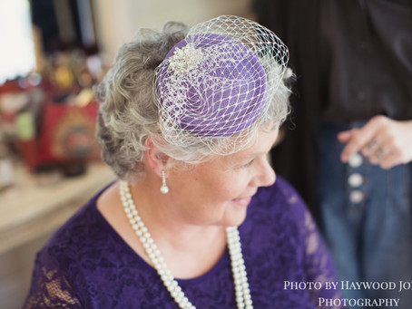 A Special Bespoke Mother of the Bride Hat