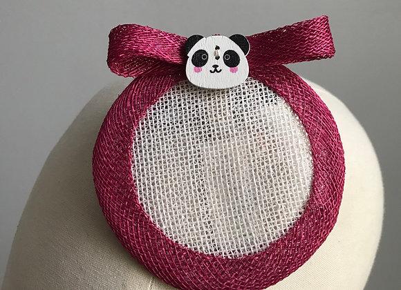 Panda Fascinator