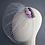 Thumbnail: Sugar & Spice Ivory Birdcage Veil with Sweets