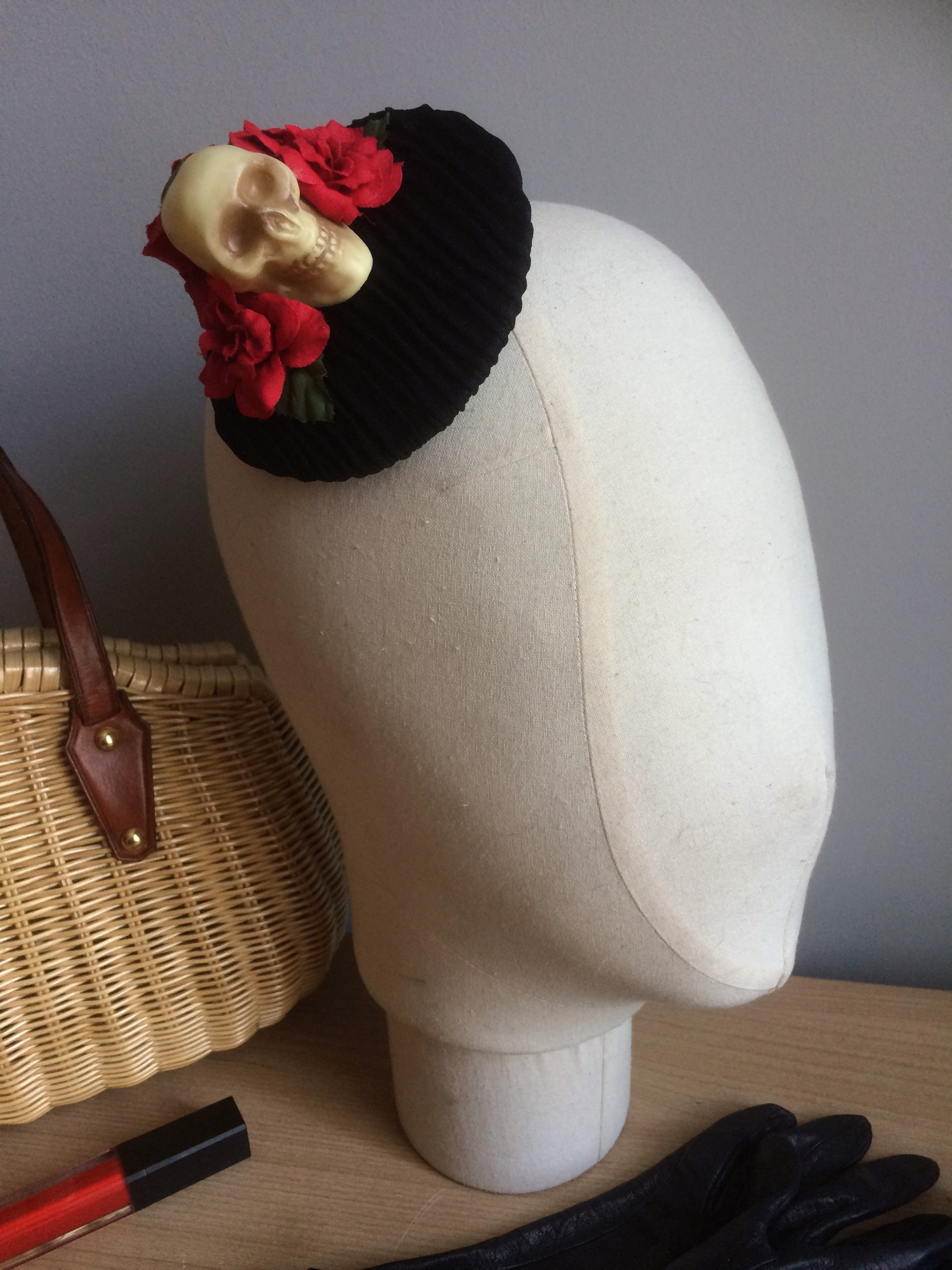 Halloween fascinator