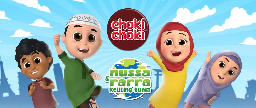 CHOKI CHOKI NUSSA & RARRA KELILING DUNIA