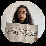 Sarah Heidari Bildproteste 99. KSK FFM
