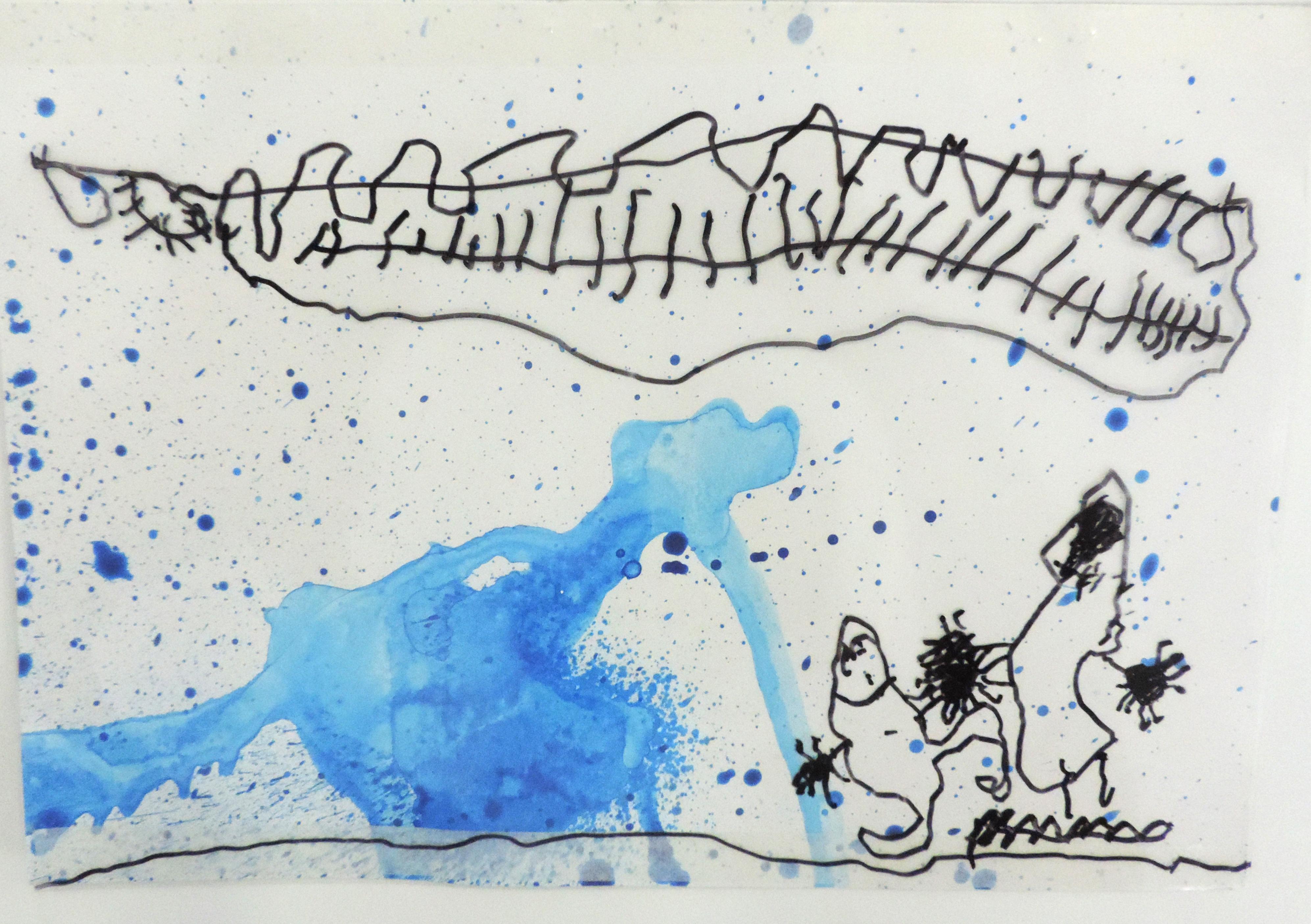 Desenho de Ana Leopoldina Alabarce