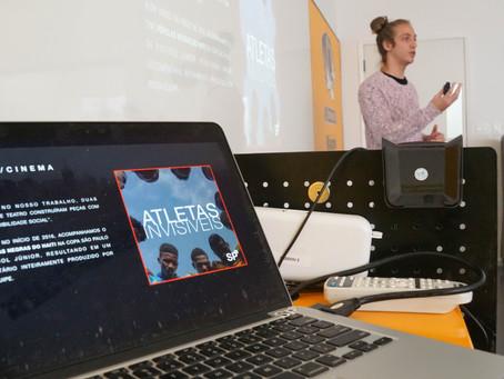 Palestra com André Soler sobre o Projeto SP Invisível