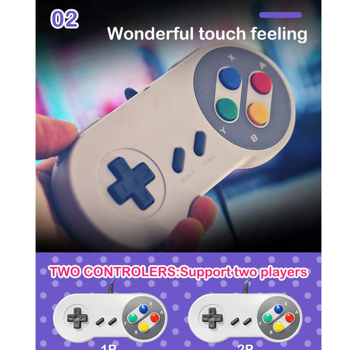 Super Nintendo Classic Edition Console Mini Built-in 821 Game