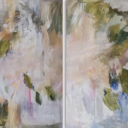 2019 Acrílico sobre lienzo 200 x 150 cm (Aprox.) Díptico