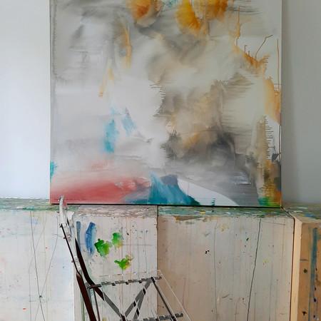 2020 Acrílico sobre lienzo  120 x 120 cm Díptico