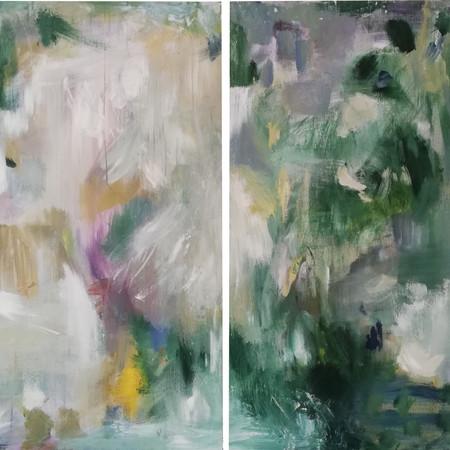 2020 Acrílico sobre lienzo  145 x 100 cm (Aprox.)