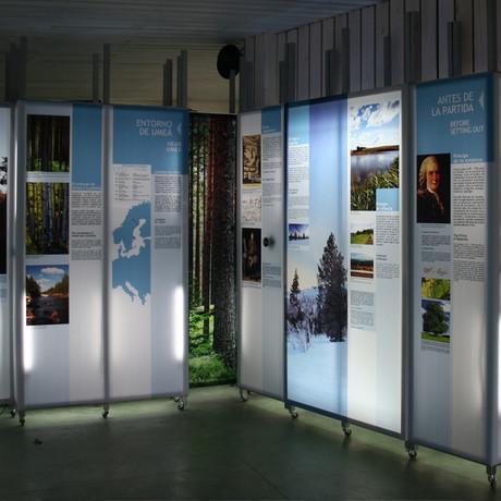 Pabellón Carlos Linneo. Jardín Botánico Atlántico de Gijón