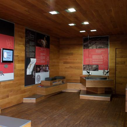 Centro arqueológico de Tourón