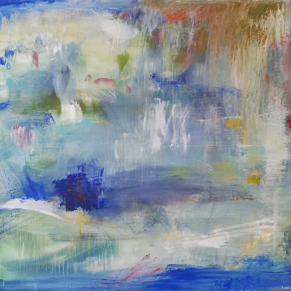 2020 Acrílico sobre lienzo 146 x 100 cm