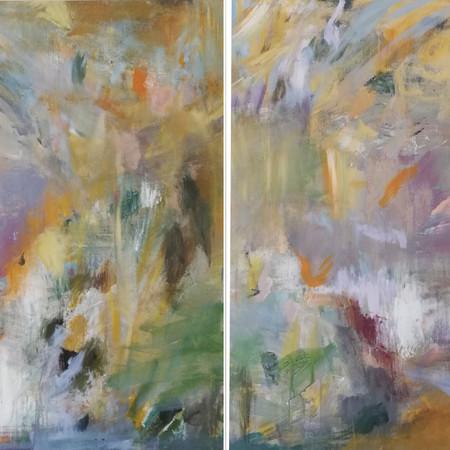 2020 Acrílico sobre lienzo  200 x 100 cm (Aprox.)
