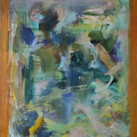 2020 Acrílico sobre lienzo  80 x 100 cm
