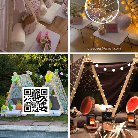 Teepees of Serendipity
