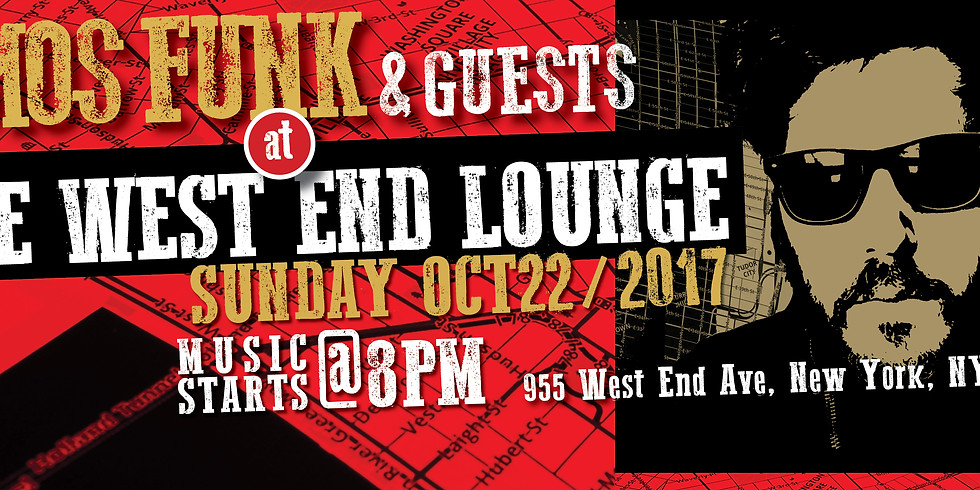 Amos Funk Live @ the West End Lounge