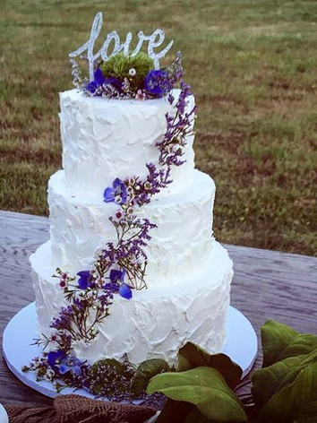 Beautiful rustic country wedding yesterday