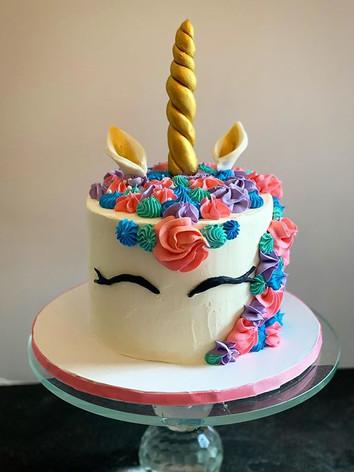 Colorful Unicorn Cake