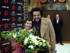 С Филиппом Киркоровым на моём Дне ро