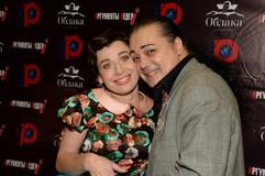 С Игорем Наджиевым на моём Дне рождения