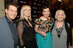 С Сергеем Чумаковым, Любовью Воропаевой и Лидией Козловой на моём Дне рождения