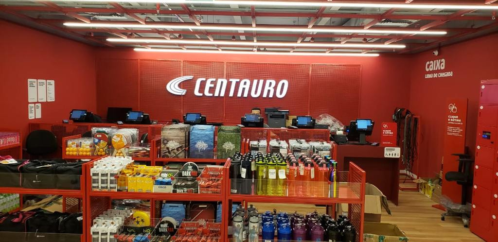 Loja Centauro Shopping Iguatemi Fortalez