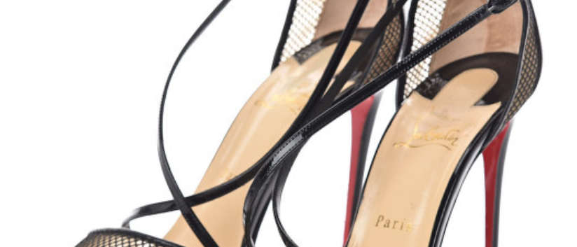 Christian Louboutin - Patent Sandals  100mm