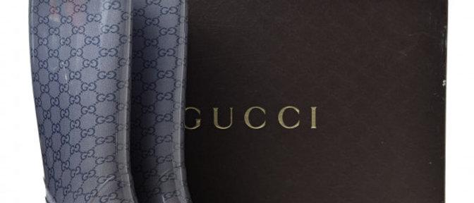 Gucci - Monogram Rain Boots