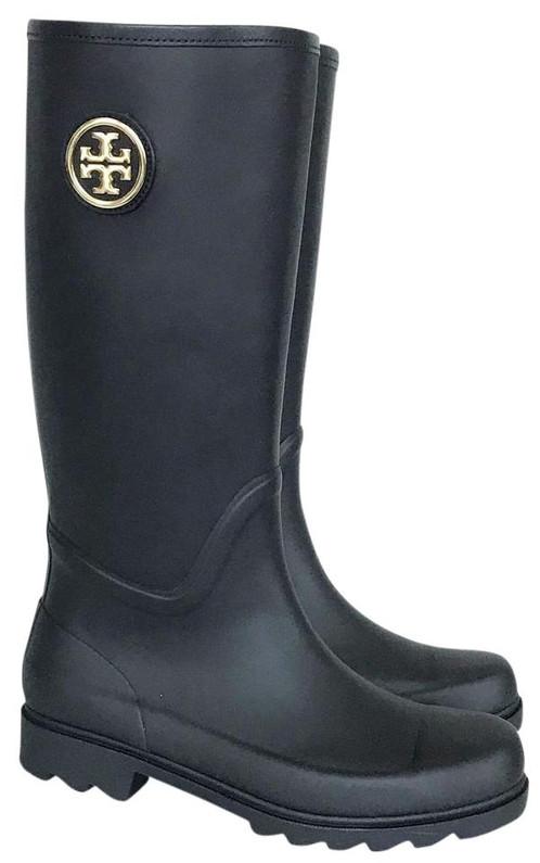 5424800c9206 Tory Burch - Rubber Rain Boots. SKU  55330.   189.00. 5 star condition -  Pristine! Brand New Like New Condition ...