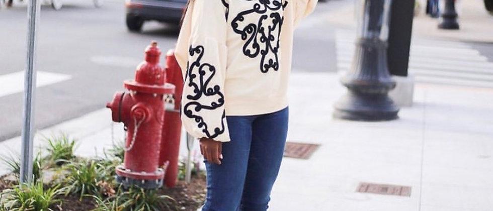 Zara - Scribble Sweatshirt