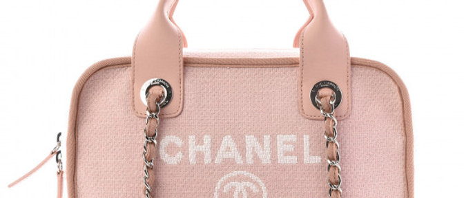 Chanel - Deauville Bowling Bag