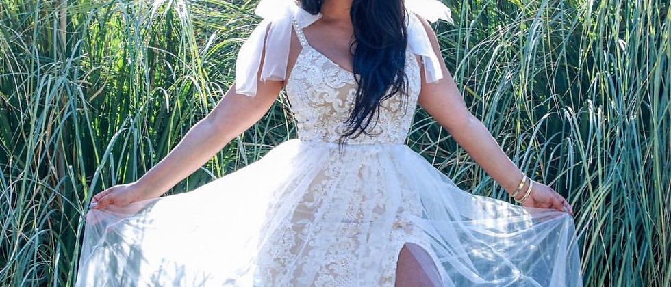Nichole Lynel - Lace Goddess Dress