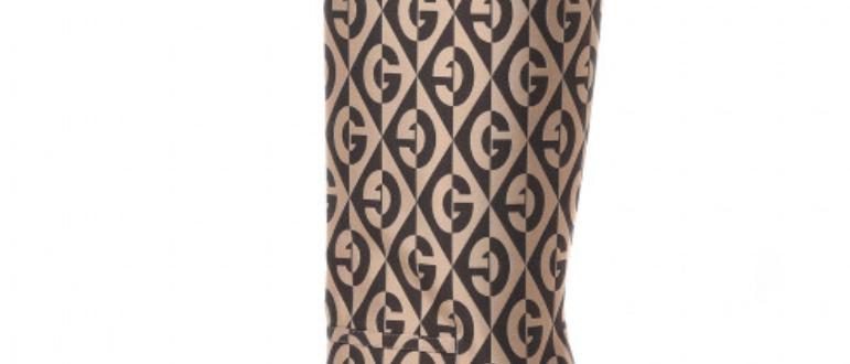 Gucci - Platform Rhombus Boots