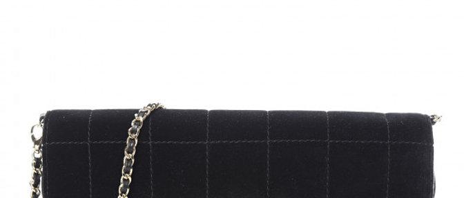 Chanel - Velvet Travel Flap